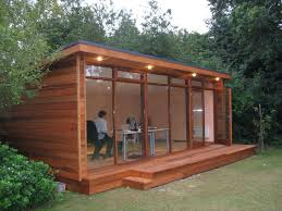 Wooden shed that is modern, stylish and functionable